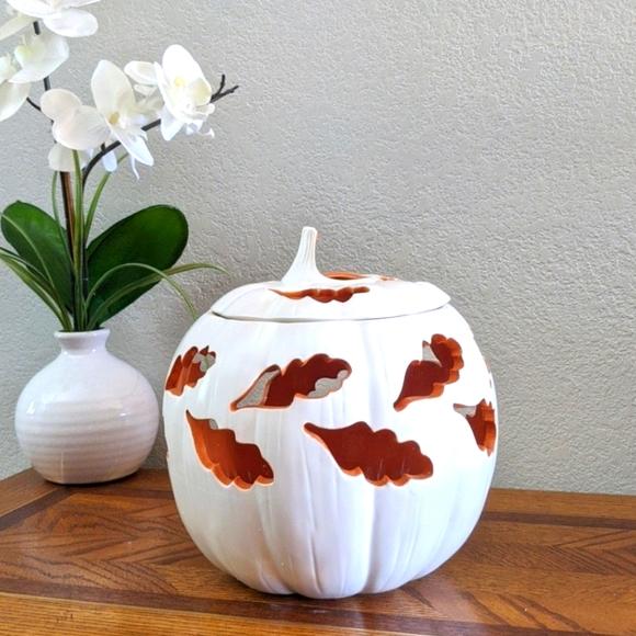 Partylite Pumpkin Candle Holder